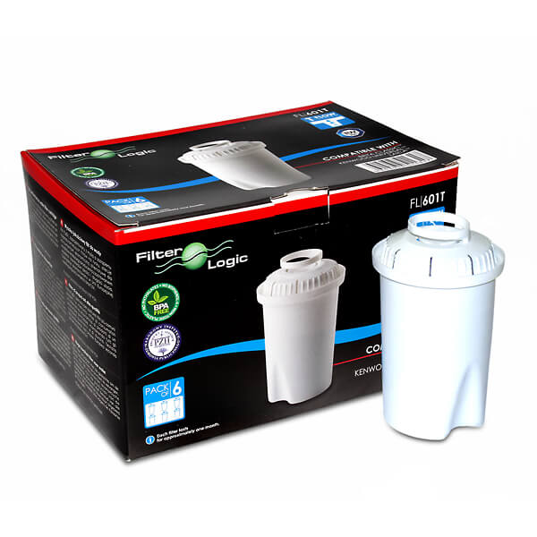 FilterLogic FL601 compatible with Brita Classic (6 Pack)